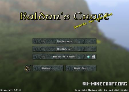 Скачать Baldur's Craft [32x] для Minecraft 1.11