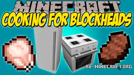 Скачать Cooking for Blockheads для Minecraft 1.12
