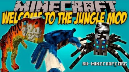 Скачать Welcome to the Jungle для Minecraft 1.10.2