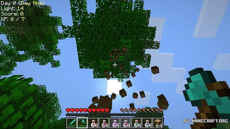 Скачать treecapitator для minecraft 1. 10. 2.
