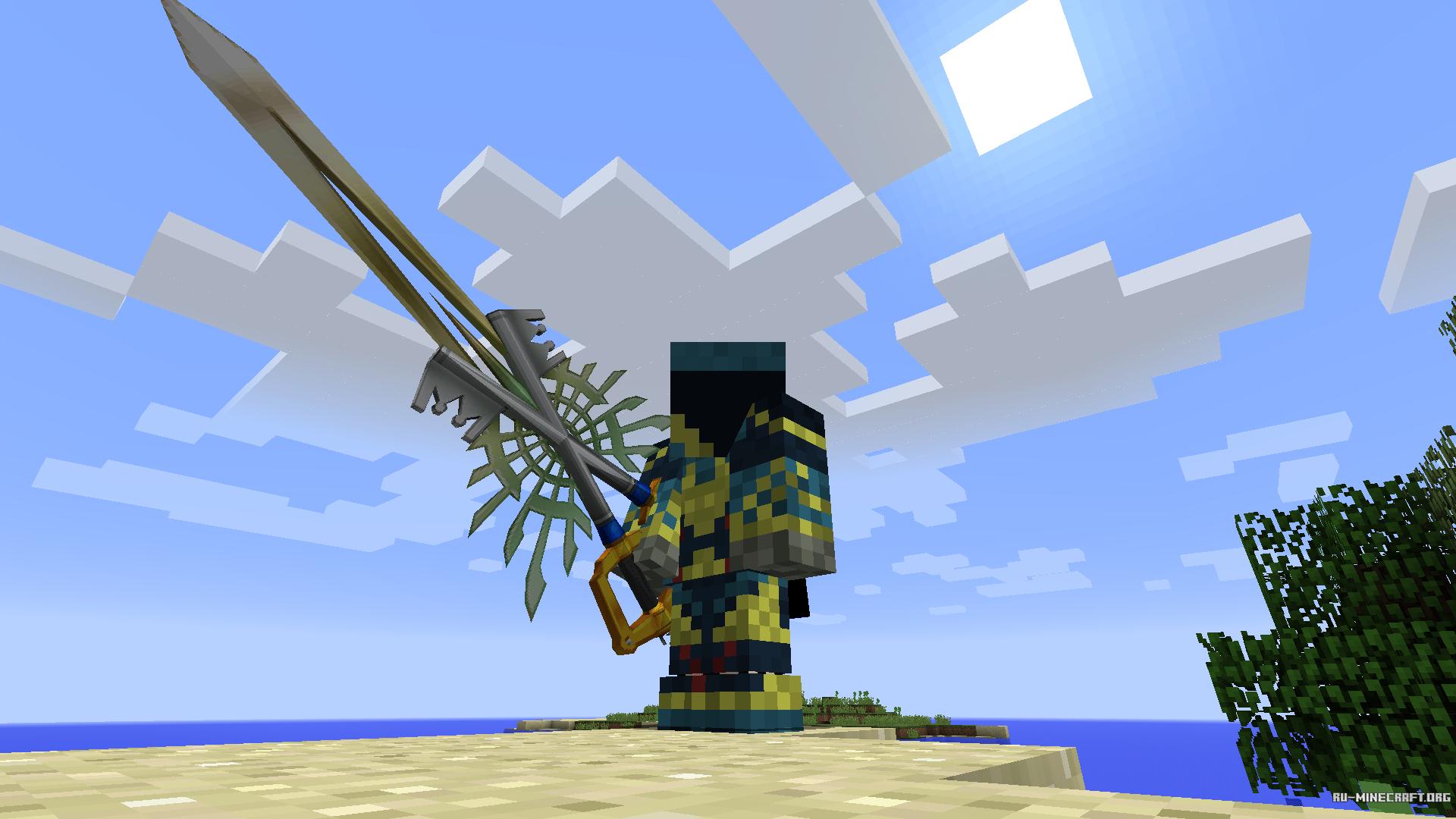 моды на оружию и броню богов майнкрафт 1.7.10 #8