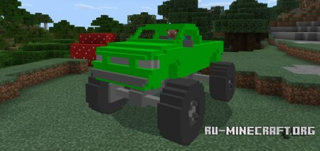 Скачать MonsterTruck для Minecraft PE 1.1