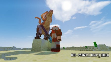 Скачать Monster Hunter Frontier для Minecraft 1.11