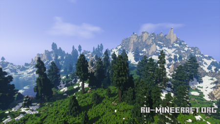Скачать Mountain of the Winters для Minecraft
