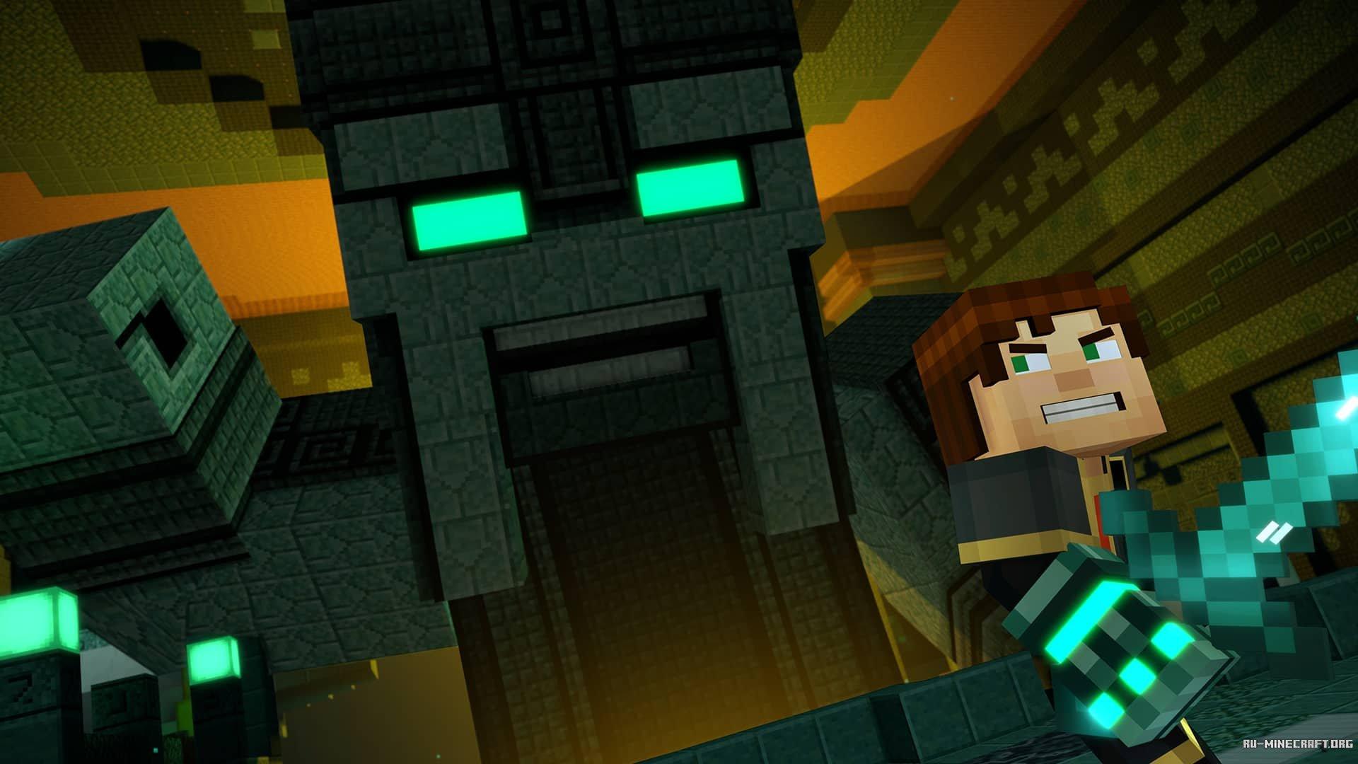 Скачать Minecraft: Story Mode Season 2 Episode 2 Торрент