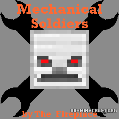Скачать Mechanical Soldiers для Minecraft 1.12.1