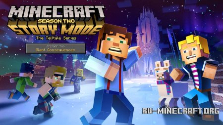 Лого Minecraft: Story Mode Season 2 Episode 2 - Giant Consequences