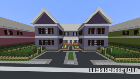 Скачать Suburban Neighborhood для Miencraft