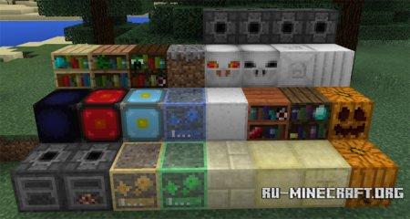 Скачать More Blocks для Minecraft PE 1.1