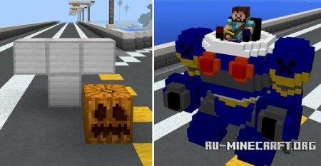 Скачать RoboCraft для Minecraft PE 1.1