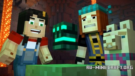 Minecraft Story Mode Season 2 Episode 2 скриншот 1