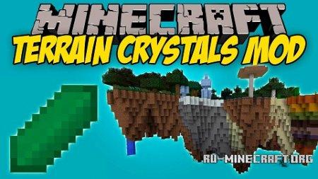 Скачать Terrain Crystals для Minecraft 1.11