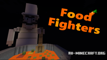 Скачать Food Fighters для Minecraft
