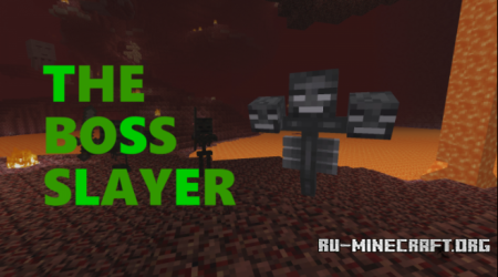 Скачать The Boss Slayer для Minecraft
