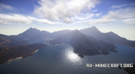 Скачать карту майнкрафт острова в небе