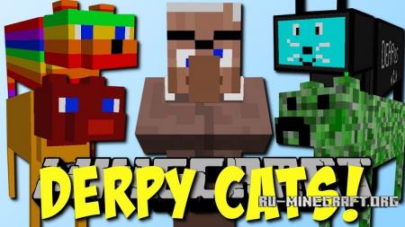 Скачать DerpCats для Minecraft 1.12.1