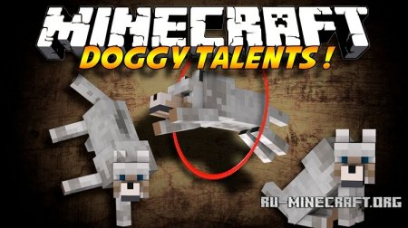 Скачать Doggy Talents для Minecraft 1.12.2