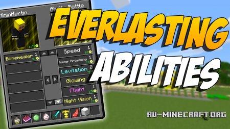 Скачать Everlasting Abilities для Minecraft 1.12.1
