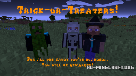 Скачать No-Holds-Barred Halloween для Minecraft 1.12.2