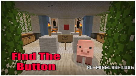 Скачать Find The Button Part 1 для Minecraft