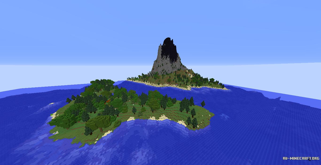карты для майнкрафт версии 1.12.2 острова #5