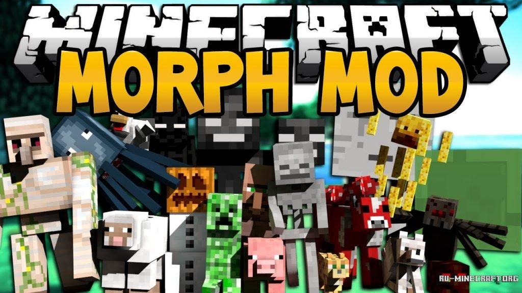 Мод mob morphing 1. 5. 2   моды для minecraft.