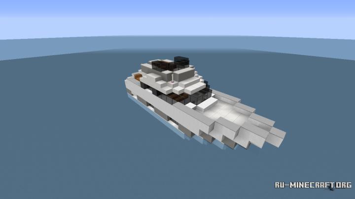 моторная лодка майнкрафт #7