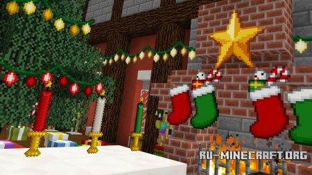Скачать Christmas Festivity для Minecraft 1.12