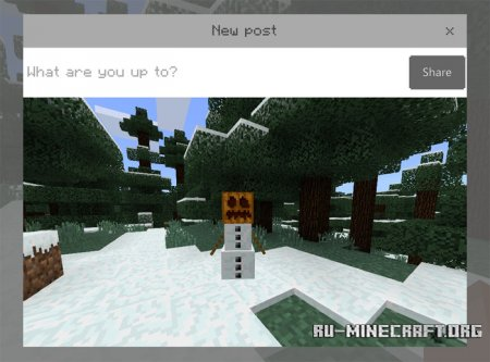 Скачать Take Screenshot Button для Minecraft PE 1.2