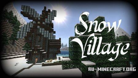 Скачать SnowVillage для Minecraft 1.12.2