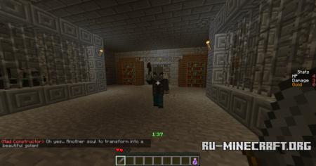 Скачать Deep in Dungeon Adventure для Minecraft