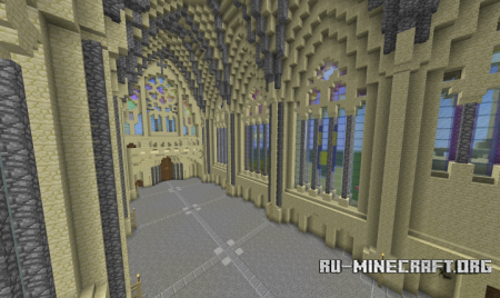 Скачать Sainte-Chapelle de Vincennes для Minecraft