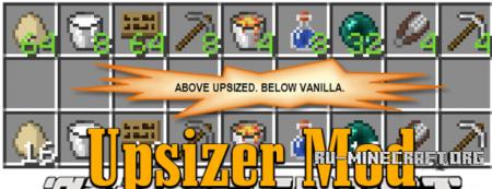 Скачать Upsizer для Minecraft 1.12