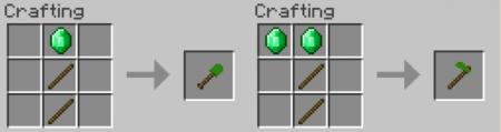 Скачать Emerald Tools для Minecraft 1.11