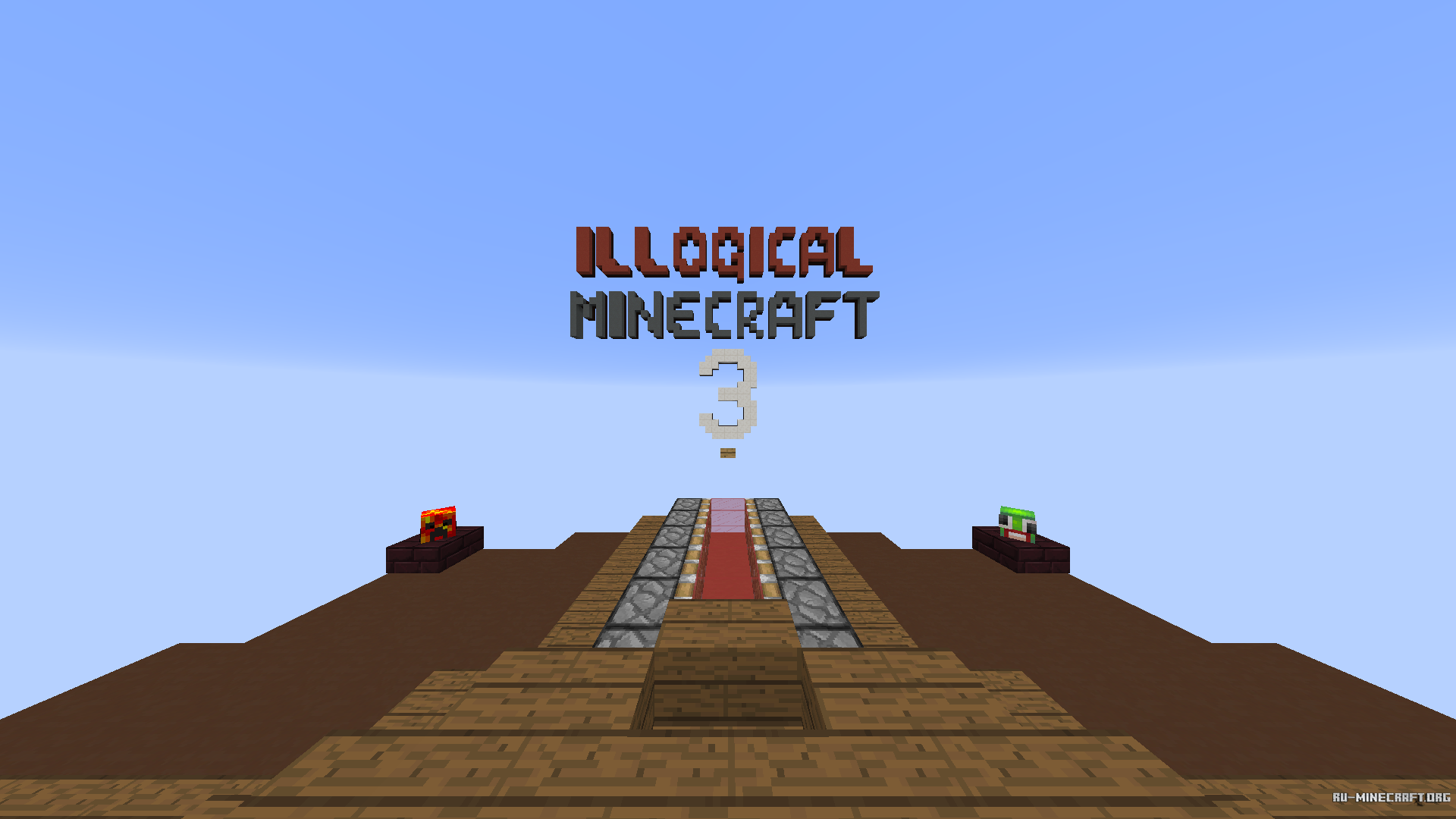 Скачать Illogical Minecraft 3 для Minecraft
