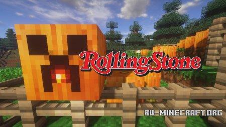 Скачать Rolling Stones [16x] для Minecraft 1.12
