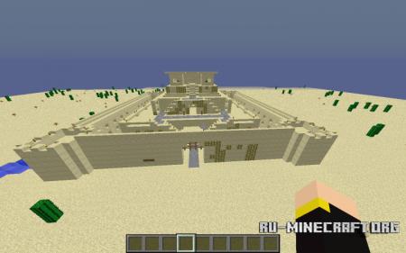 Скачать Ziggurat Temple для Minecraft
