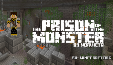 Скачать Prison of the Monster для Minecraft