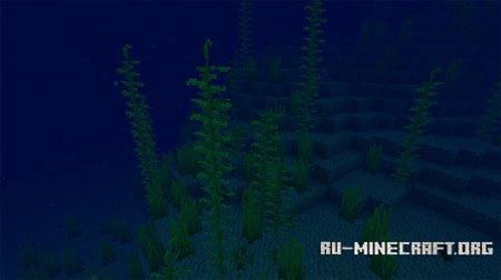 Морские водоросли и Ламинария в Minecraft 1.13