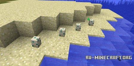 Яйца черепахи в Minecraft 1.13