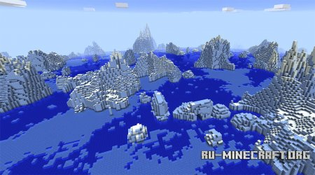 Айсберги в Minecraft 1.13