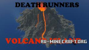 Скачать Death Runners: Volcano Island для Minecraft