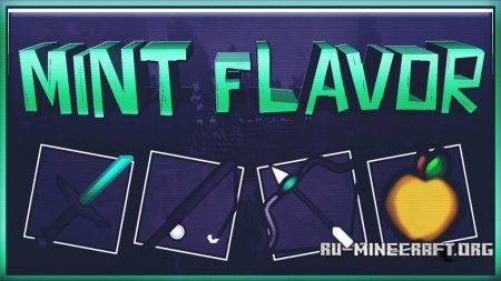 Скачать Alvoria's Mint Flavor [16x] для Minecraft 1.12.2