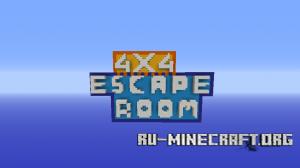 Скачать 4x4 Escape Room для Minecraft