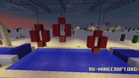 Скачать Ninja Warrior Desert Qualifiers для Minecraft