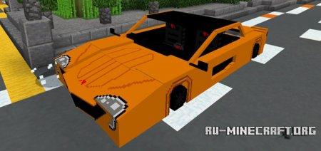 Скачать McLaren P1 для Minecraft PE 1.2