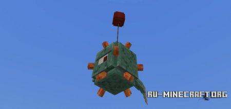 Скачать Balloonable Mobs для Minecraft PE 1.2