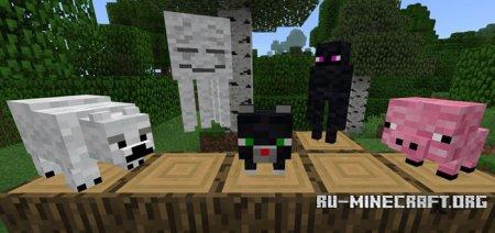 Скачать SG Plushies 2 для Minecraft PE 1.2