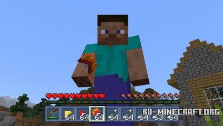 Скачать Mo'Arrows для Minecraft PE 1.2