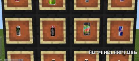 Скачать Energy Drinks для Minecraft PE 1.2